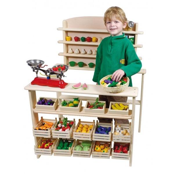 Epicerie jouets de marchand boutique jouet - Epicerie ancienne jouet ...