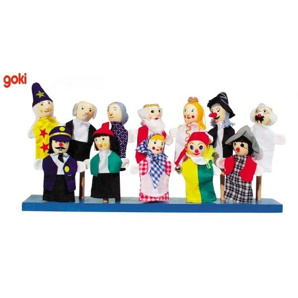 marionnettes doigts 2 marionnette th atre boutique jouet. Black Bedroom Furniture Sets. Home Design Ideas