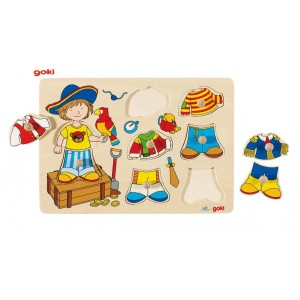 Grossiste Puzzle Petit Pirate a Habiller