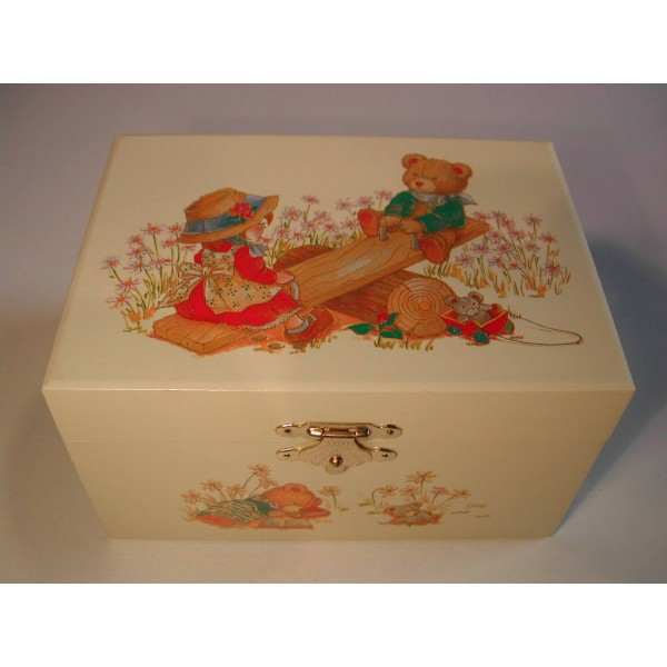 boite balan aire petite fille ours jouets pour enfant. Black Bedroom Furniture Sets. Home Design Ideas