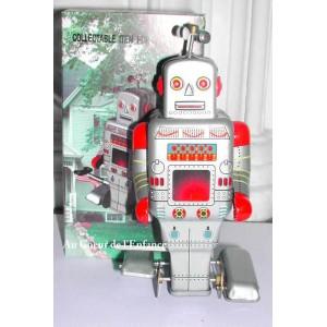 Jouet Robot Helice argente