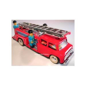 Jouet Camion de pompier echelle mobile