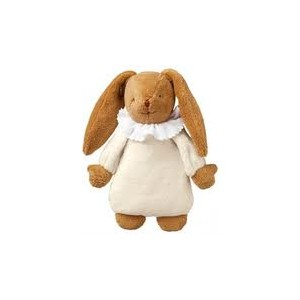 Grossiste Lapin musical nid d ange ivoire25 cm