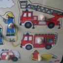 Jouet Puzzle Pompiers