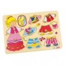 Jouet Puzzle Petite Princesse à Habiller