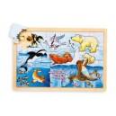 Jouet Puzzle des animaux polaires