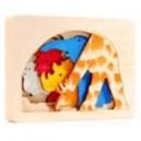Jouet Puzzle en bois Girafe de Georges Luck