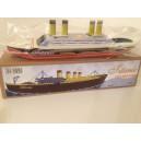 Jouet Bateau pop pop Titanic a vapeur d eau