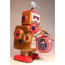 Jouet Robot petite brune tambour