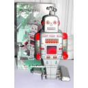 Jouet Robot Hélice argenté